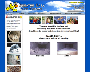 Breathe Easy Duct Cleaning